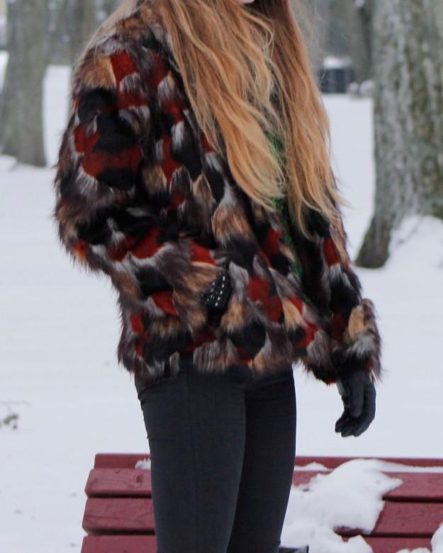 asos rock chic patchwork coat