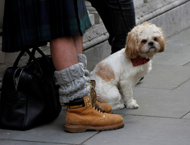 london fashion week heels mans fashion street style