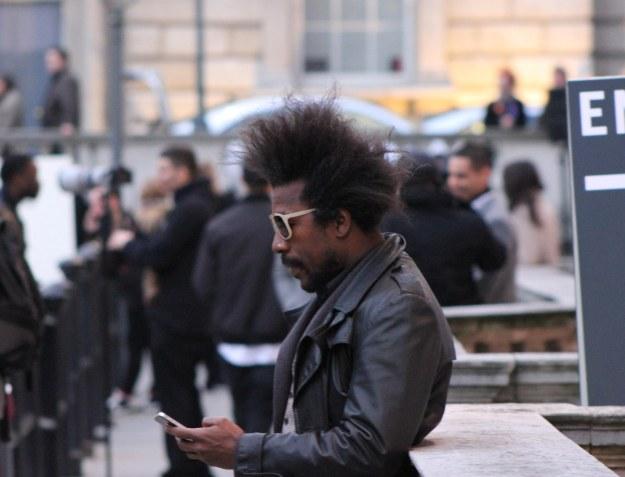 street style hair london fashion week 2013