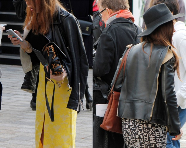 street style london fashion week 2013 aw margiela jacket hm