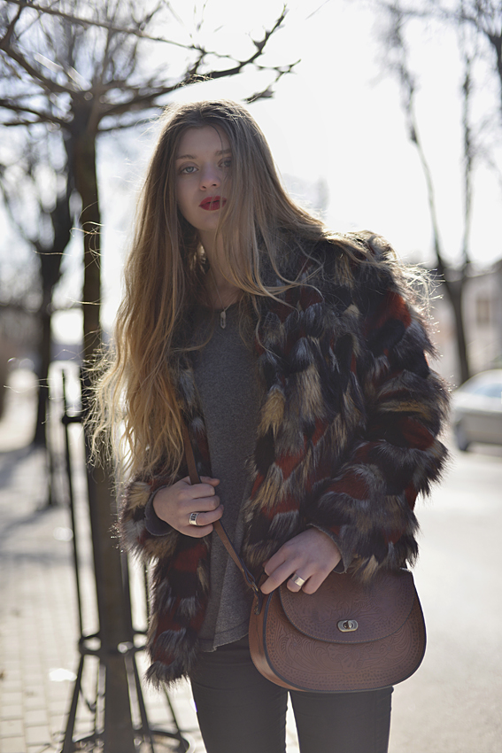 boho chic red pils street style