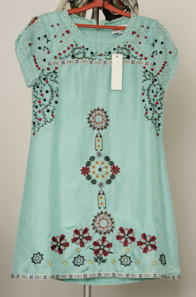 jovonna london silk dress boho
