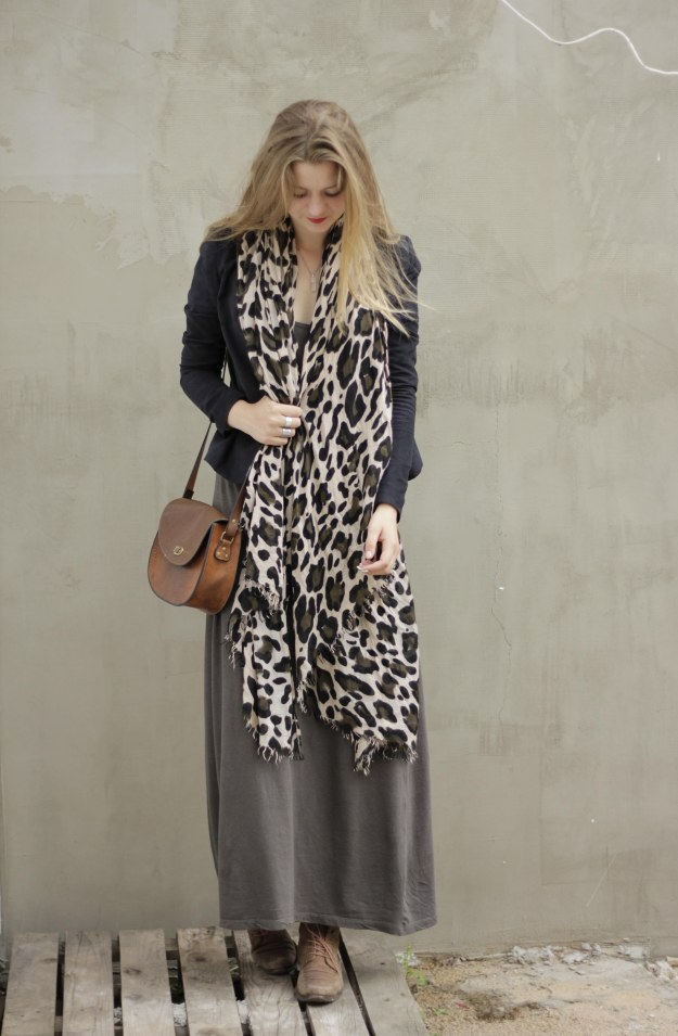 rock chic blog leopard print scarf