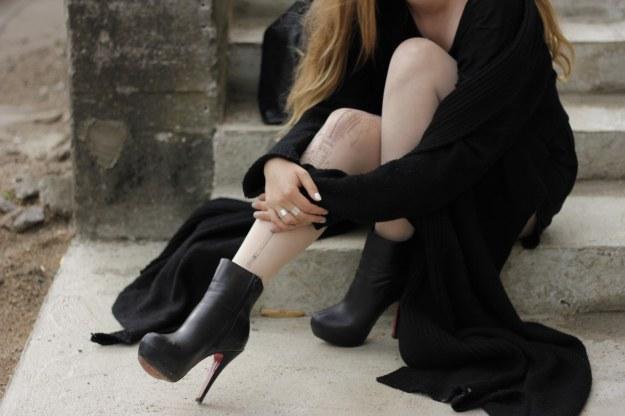 deadlyinlove fashion street style rock heels