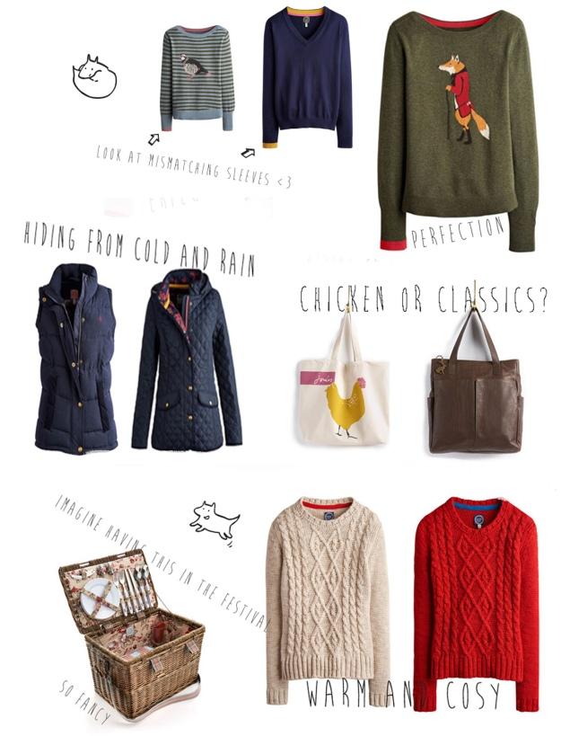 joules clothing fox print sweater picnic basic