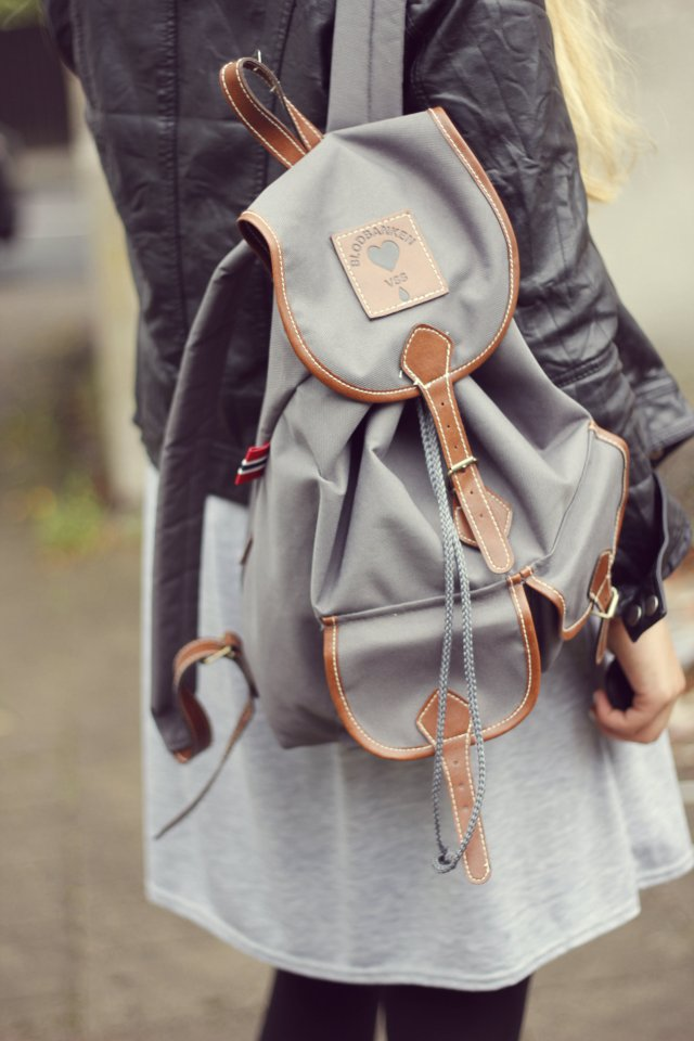 romantic look backpack