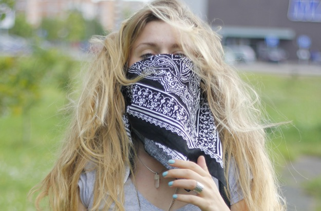 street style chic look bandala