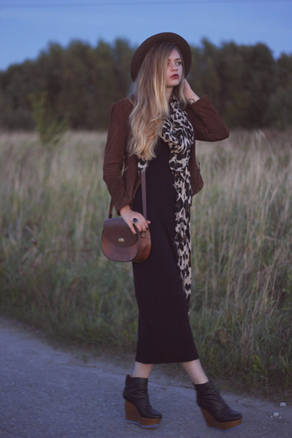 boho chic look fashion