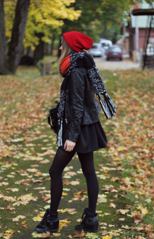 cute fall outfit beanie
