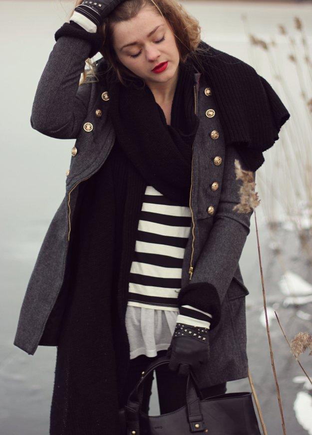 tart collections basic striped shirt