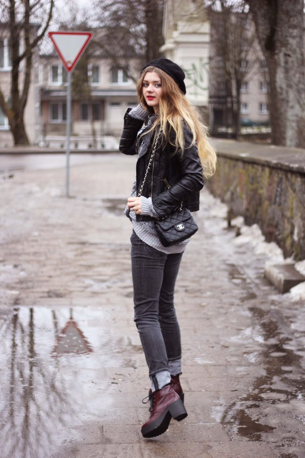 street style grunge boots