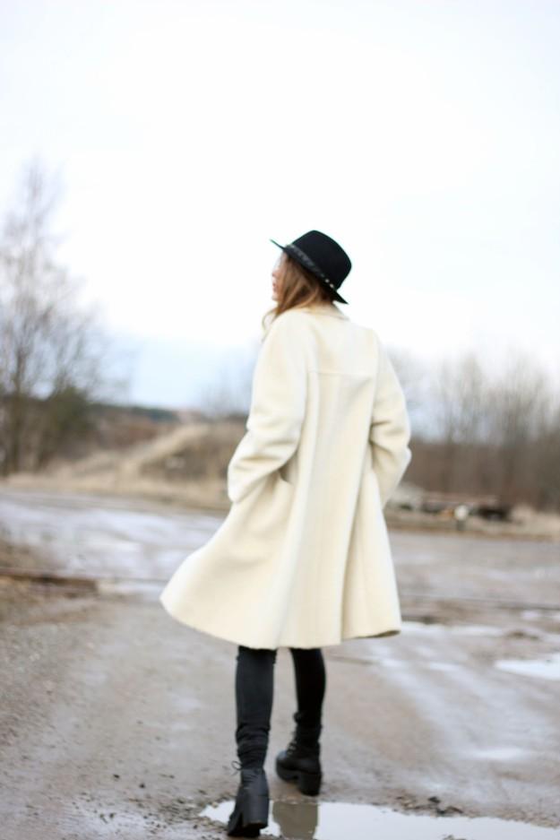 white coat look