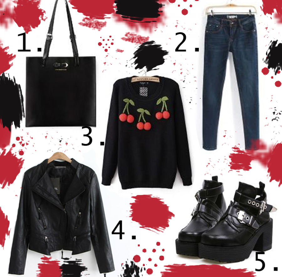 classic rock chic outfit