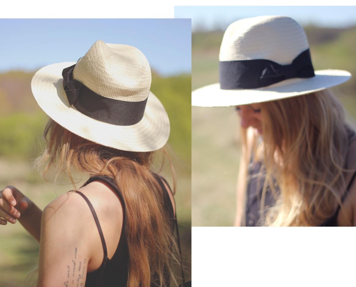 b fedora hat