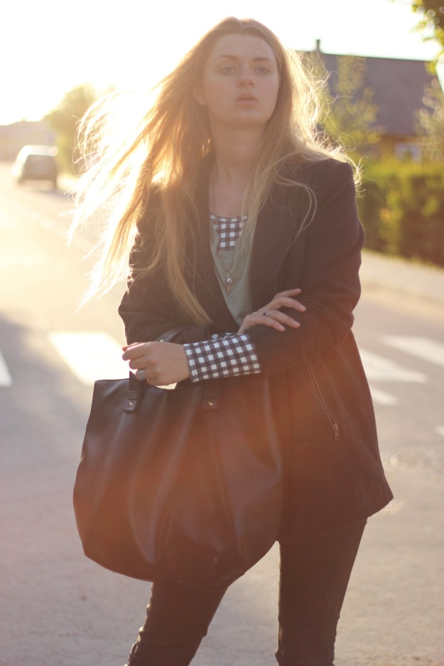 rock chic classic outfit