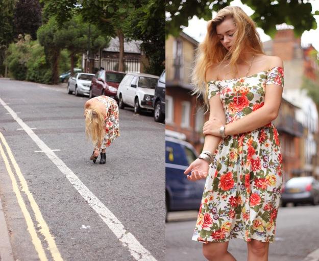 floral dress asos