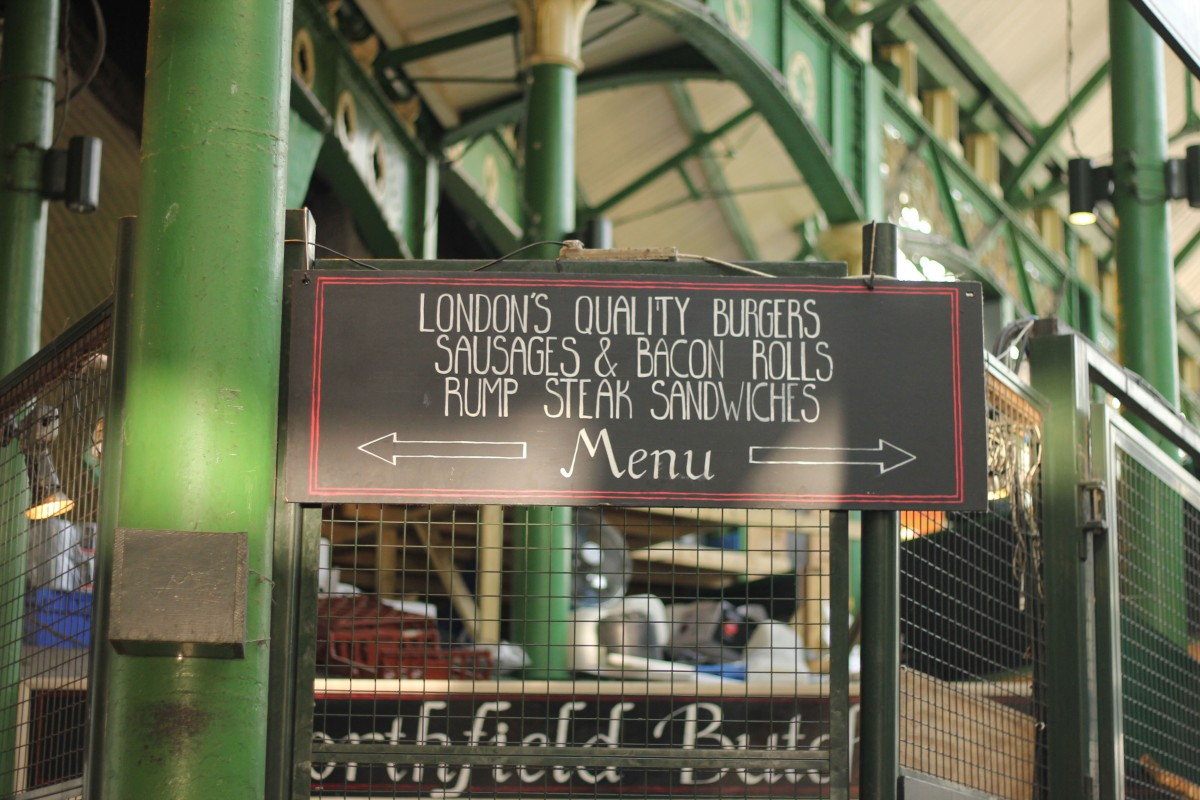 borough market to see london