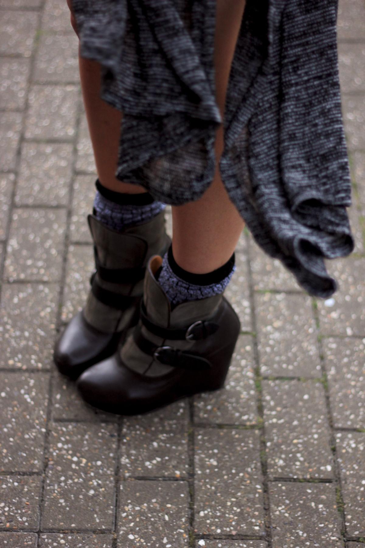 topshop dark socks 1