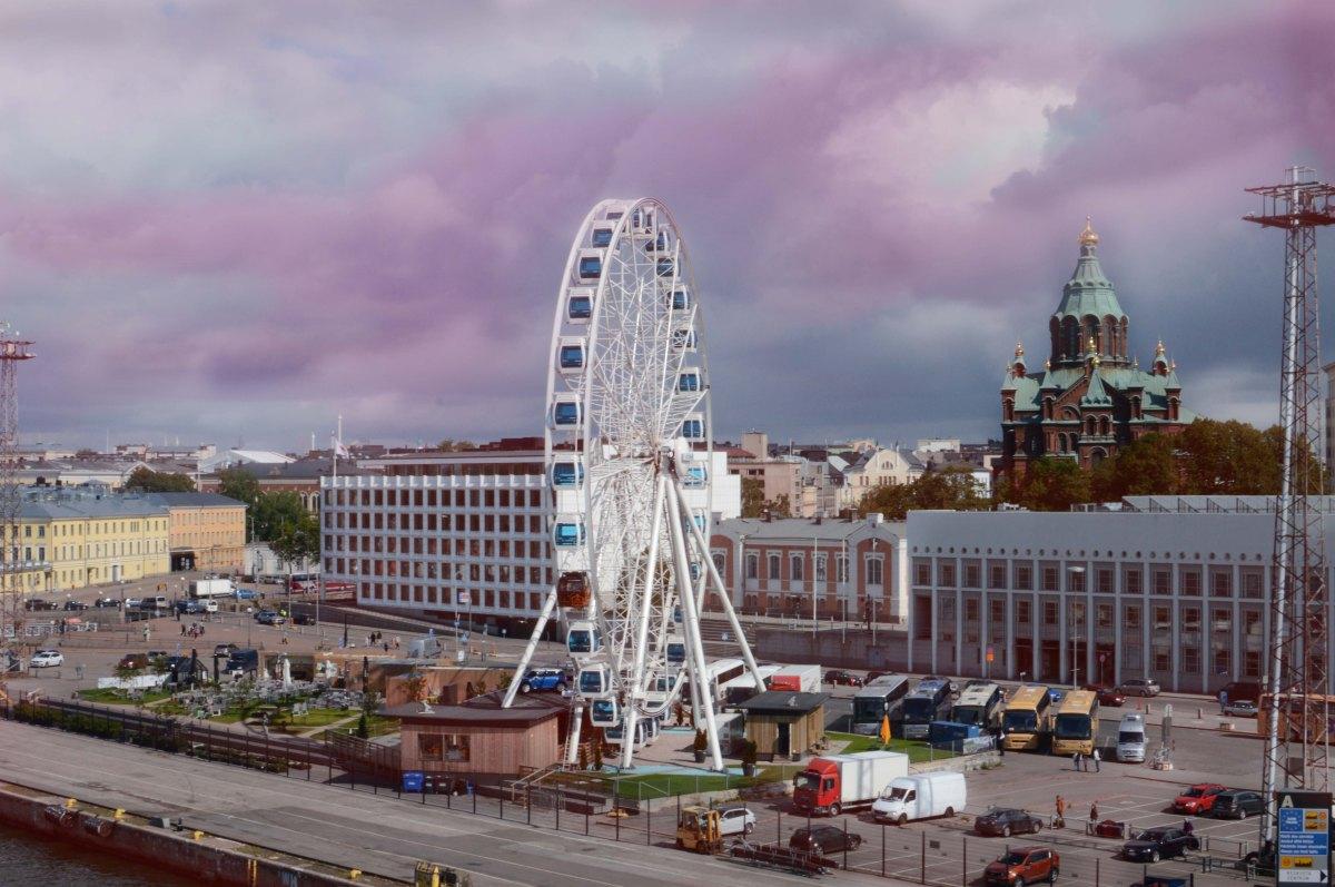 helsinki city wheel travel